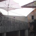 voile ombrage , parasol
